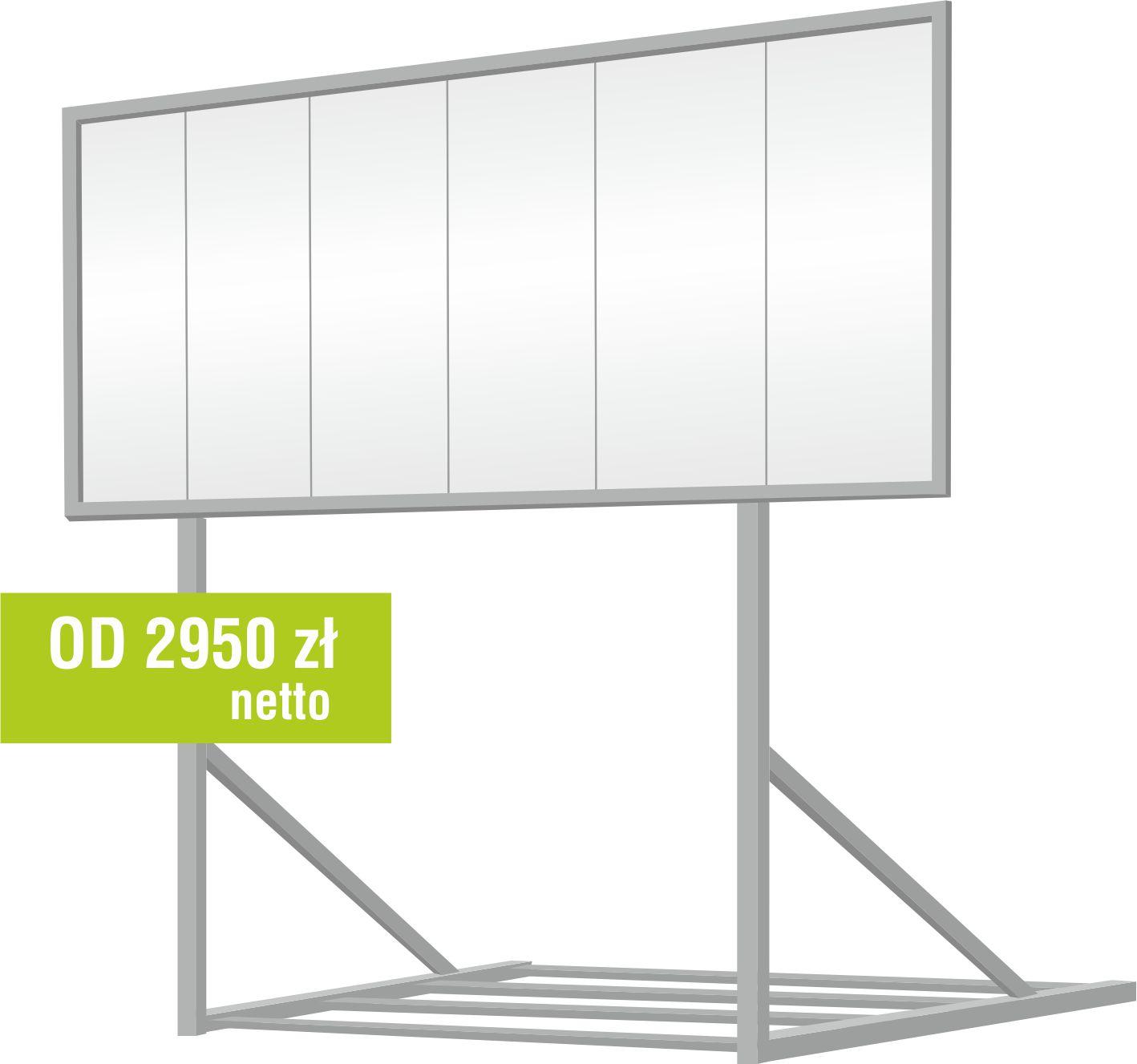 billboard przestawny cena Euro 12 Zielona Góra