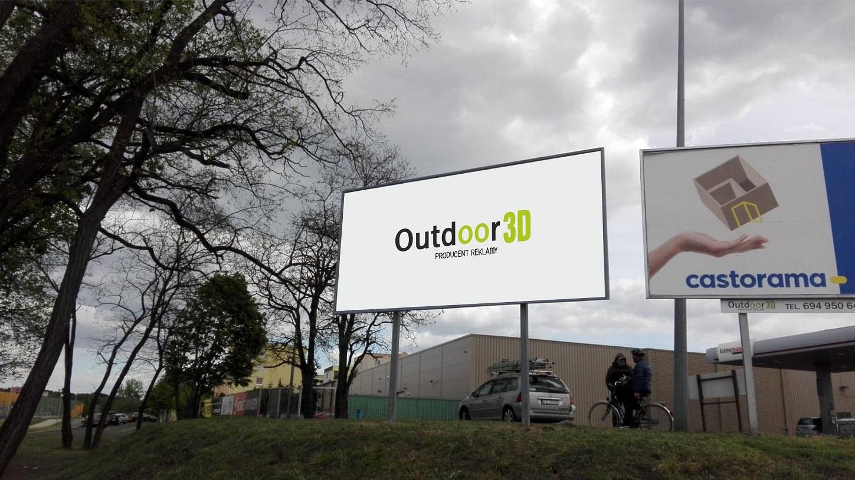Billboard reklama wynajem powierzchnia reklamowa 504 x 204 batorego Zielona Góra