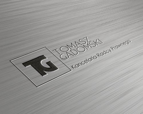 galeria projekt logo dla kancelarii Tomasza gadomskiego